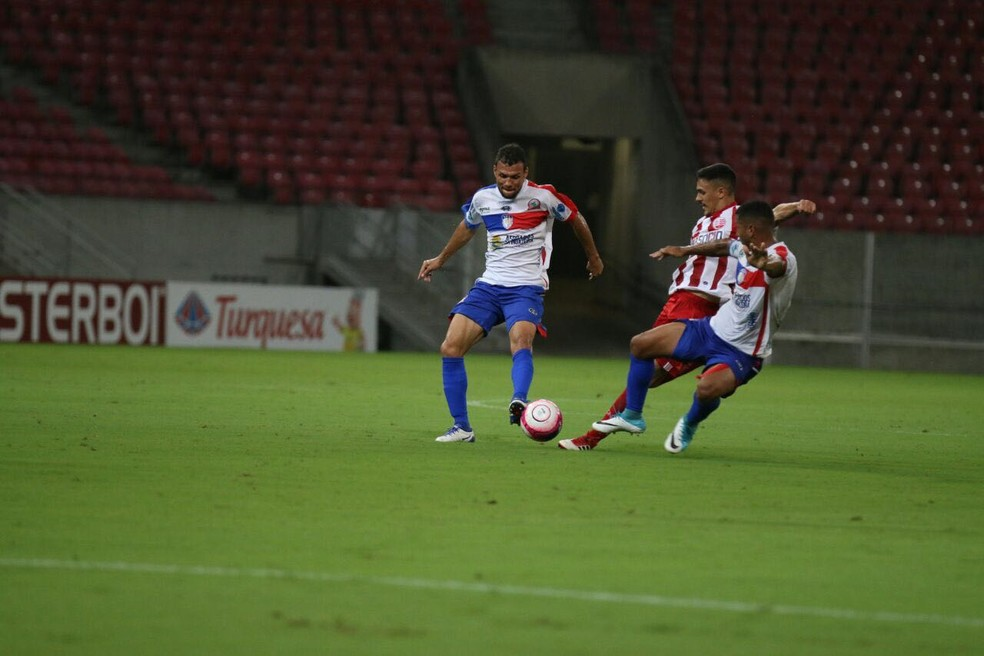 Cinco jogadores do time titular deve ser desfalque para o Afogados (Foto: Cláudio Gomes / Ascom Afogados FC)