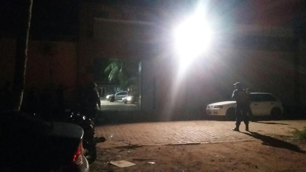 Adolescente fazem rebelião em Ceduc da Grande Natal (Foto: Sérgio Henrique Santos/Inter TV Cabugi)