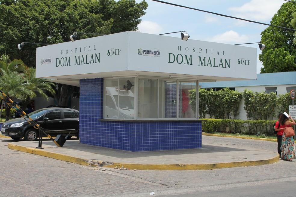O caso aconteceu no Hospital Dom Malan/ IMIP Petrolina. (Foto: Amanda Franco/ G1)