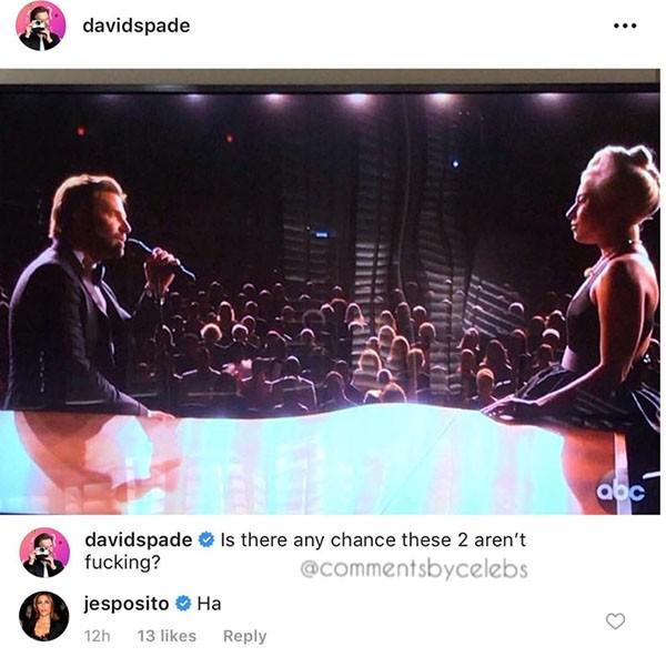 Comentário de Jennifer Esposito sobre Bradley Cooper e Lady Gaga (Foto: Instagram)