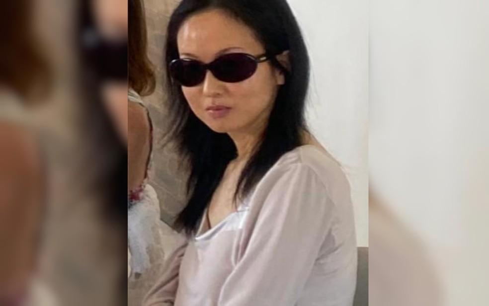 Hitomi Akamatsu, 43 anos, foi achada morta em propriedade da Casa Dom Inácio de Loyola  — Foto: Reprodução/Arquivo pessoal