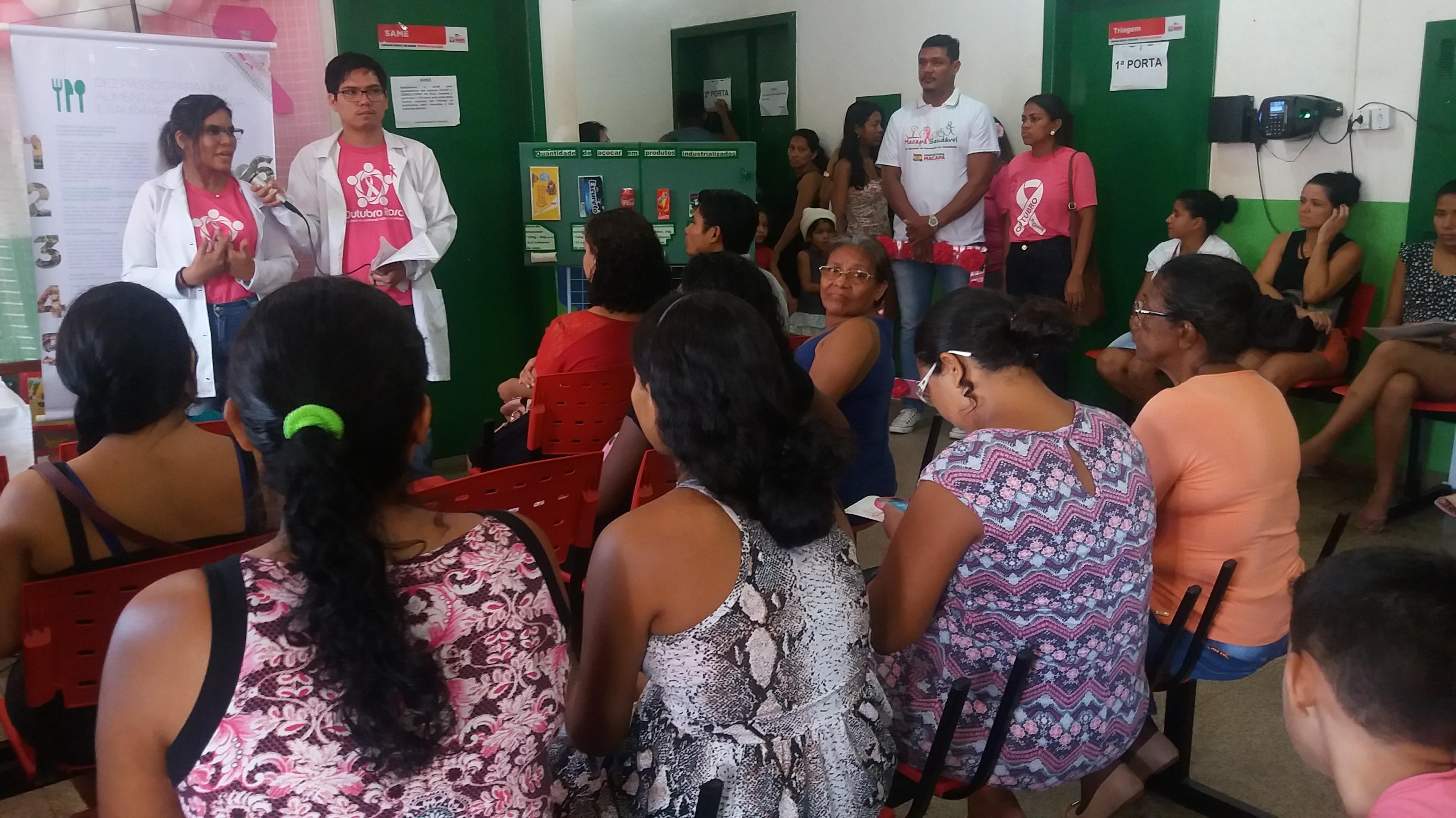 Palestras e serviços gratuitos marcam combate à obesidade em Macapá