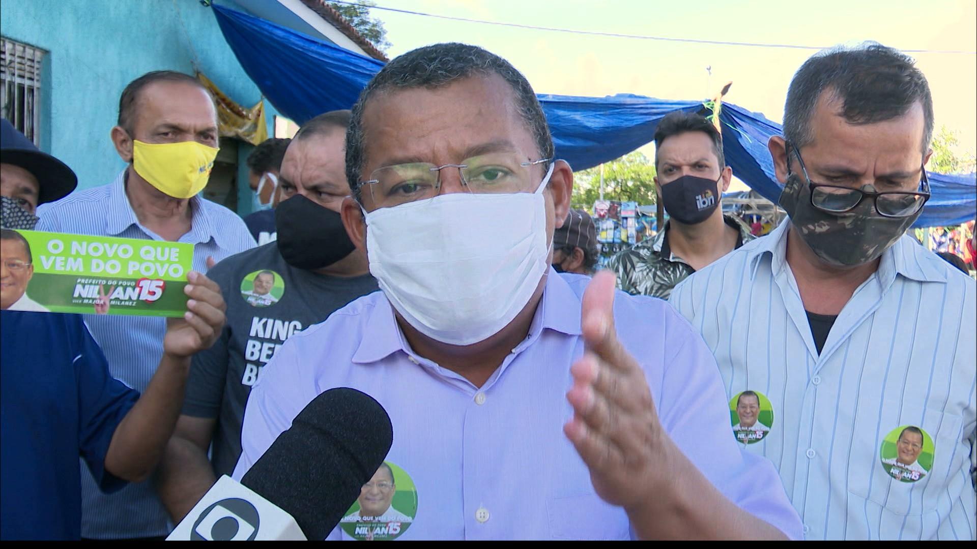 Nilvan Ferreira promete investir nos mercados públicos de João Pessoa