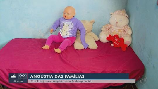 Famílias buscam por casal de namorados que desapareceu há 1 mês em MG