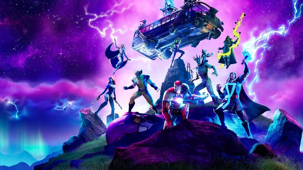Fortnite vs. Marvel: Interdimensional Warfare. (Image: Epic Games)