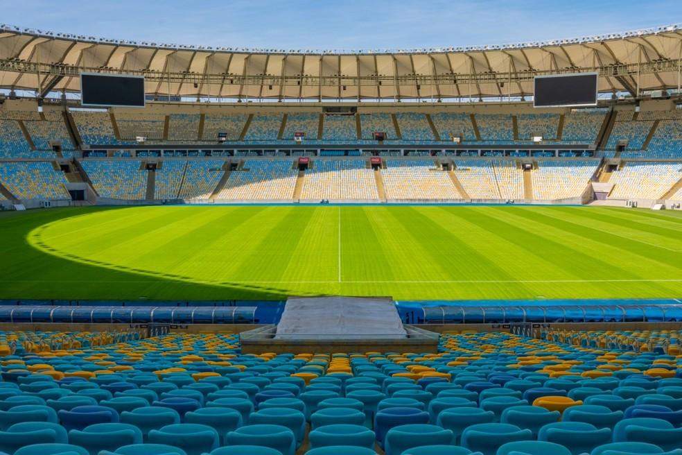 Maracanã recebe Palmeiras e Santos para a final da Libertadores no dia 30 — Foto: Divulgação