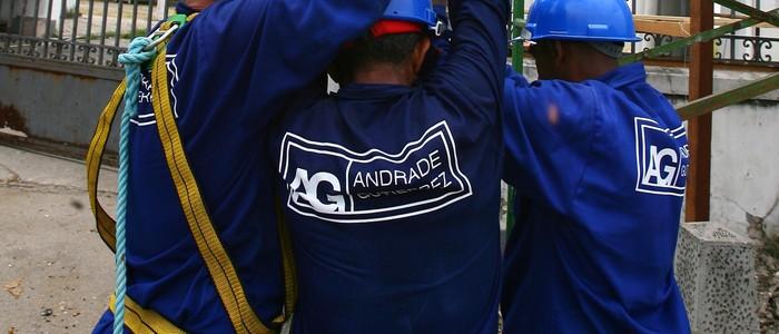 Resultado de imagem para Andrade Gutierrez f obras de mineração