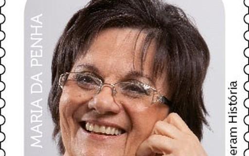 Maria da Penha é homenageada e vira selo dos Correios - Marie Claire Brasil