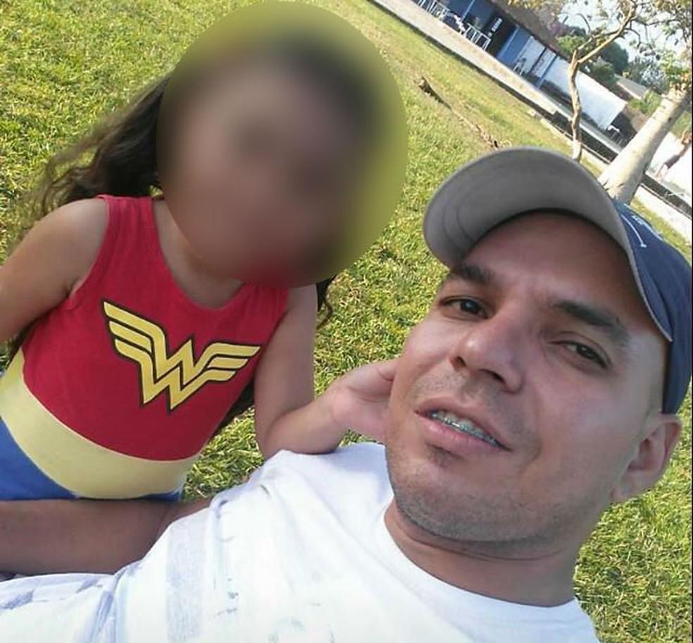 Vinícius deixa uma filha de seis anos, irmãos e a mãe — Foto: Imagem cedida pela família