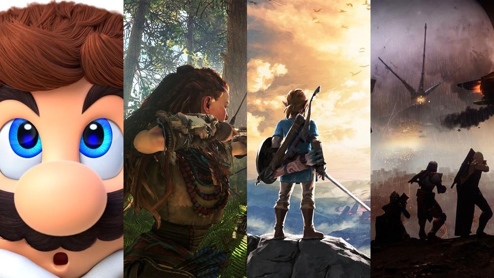 -   Super Mario Odyssey ,  The Legend of Zelda: Breath of the Wild ,  Horizon Zero Dawn  e  Destiny 2 : os grandes indicados ao Game Awards 2017  Foto: