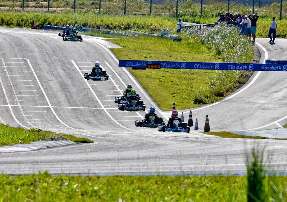 Campeões da temporada 2017 são conhecidos na última etapa do Paraibano de Kart (Foto: Divulgação / Circuito Paladino / Rico Santa Cruz)