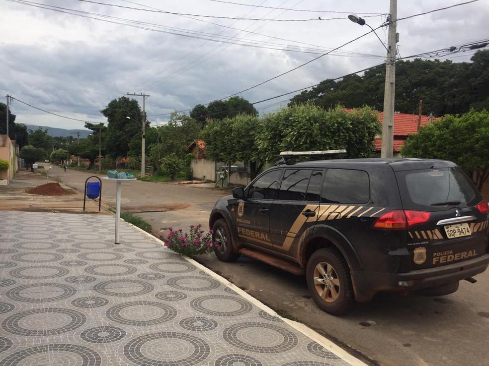 Foram cumpridos 14 mandados de busca e apreensão  — Foto: Polícia Federal/Divulgação