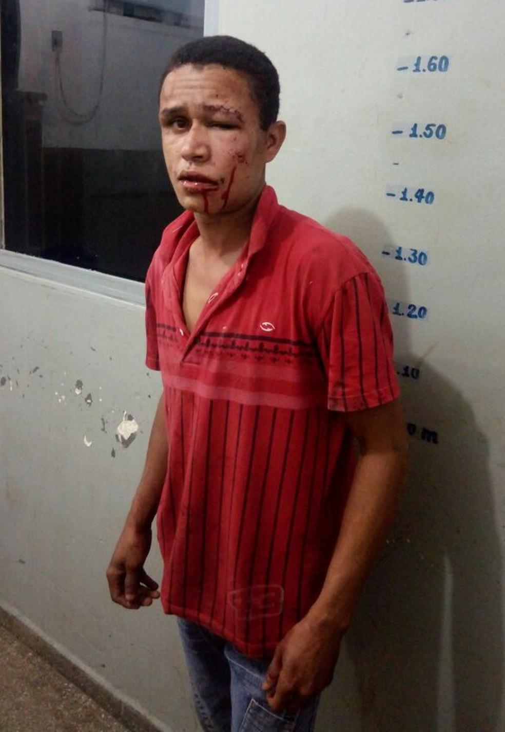 Damião de Jesus Marques foi agredido por mulher ao tentar estuprá-la em Rondonópolis; ele disse à polícia que estava embriagado (Foto: Arquivo pessoal)
