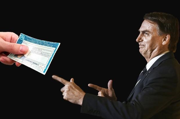 Desde antes de seu mandato, Bolsonaro está em guerra contra a legislação de trânsito do país (Foto: Autoesporte)