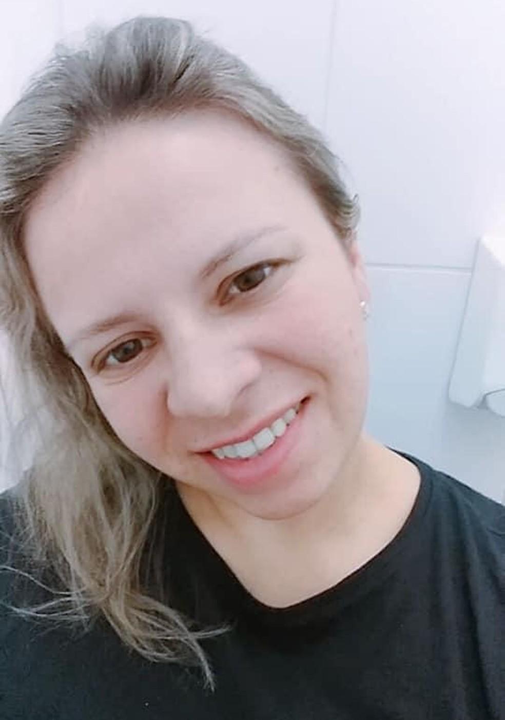 Cristina Coelho Novaes morava em São Paulo e estava no litoral norte de SP na casa de parentes — Foto: Arquivo pessoal
