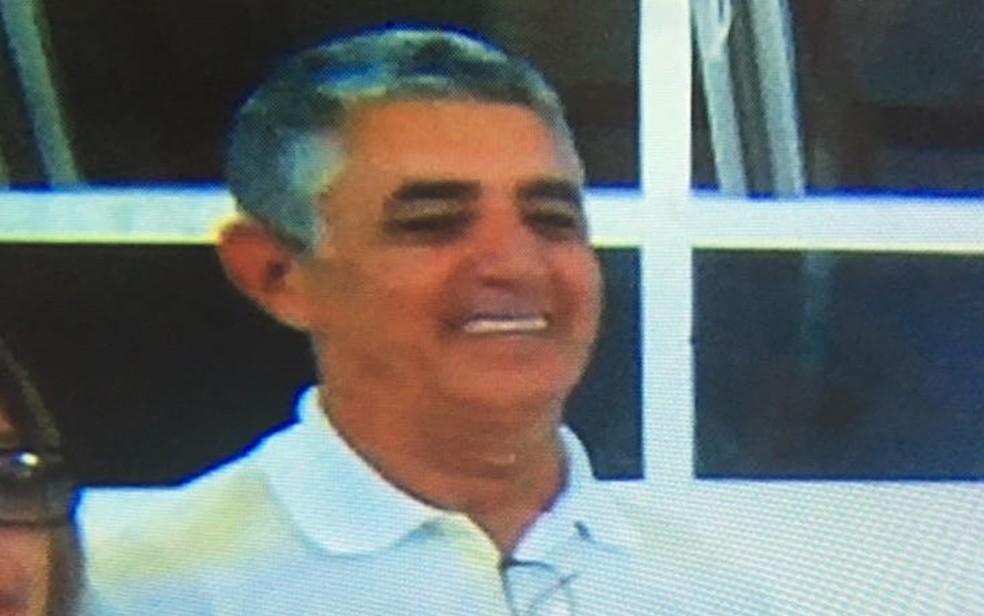 Sebastião Alves Coutinho, 66, foi esfaqueado e morto no Setor Leste Vila Nova, em Goiânia (Foto: Reprodução/TV Anhanguera)