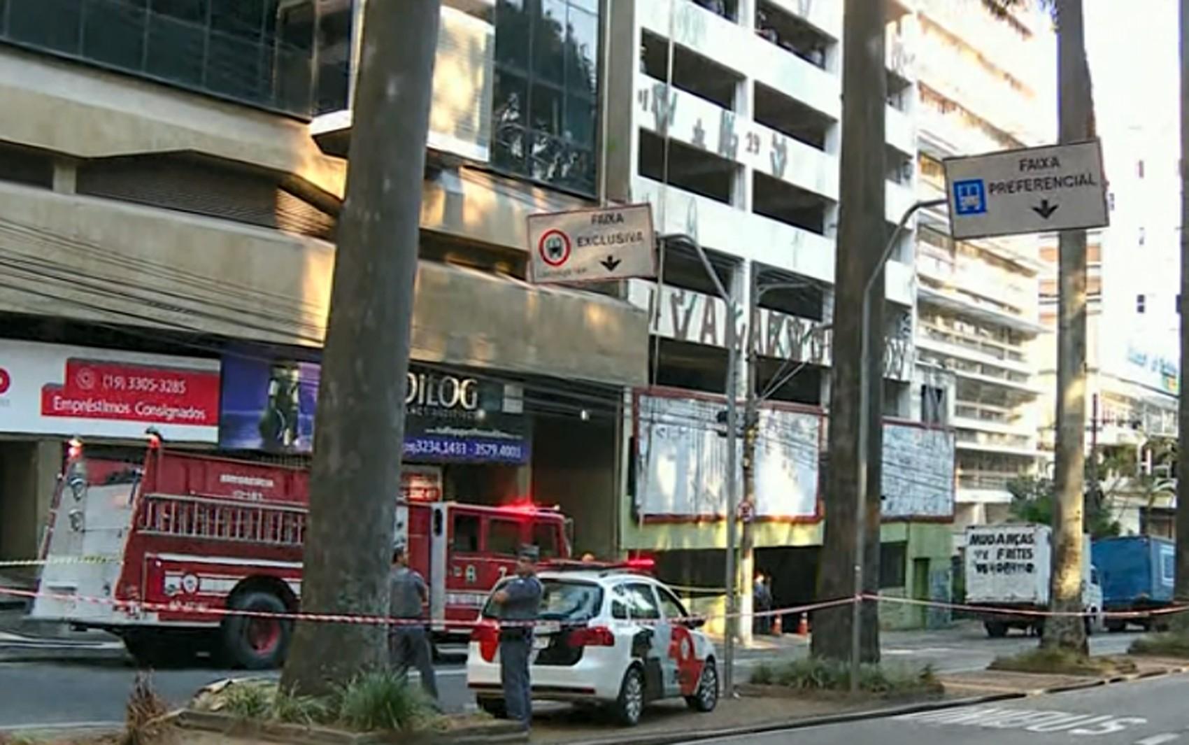Polícia Militar cumpre reintegração de posse em prédio particular no Centro de Campinas - Notícias - Plantão Diário