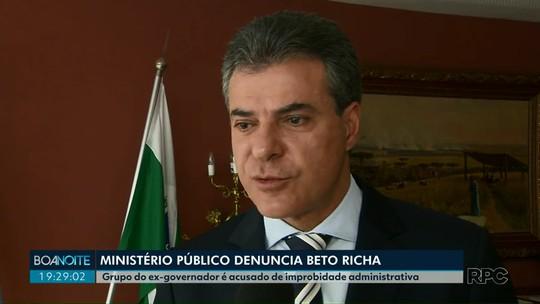 Beto Richa é denunciado por improbidade administrativa