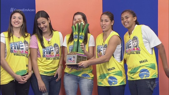 Conheça as meninas do Resenha 013, 1º campeão feminino do Neymar Jr's Five