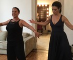 Stella Arauzo com Fátima Bernardes | Reg Murray