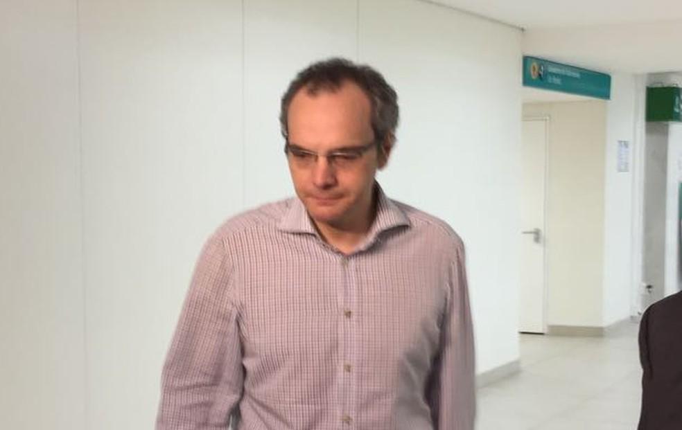O operador financeiro Lúcio Funaro, delator da Operação Lava Jato (Foto: Helen Sacconi/EPTV)