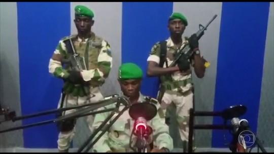 Governo do Gabão diz que prendeu militares que tentaram tomar o poder