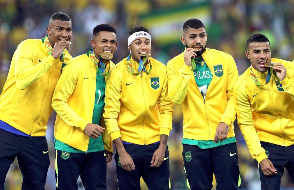 Trio olímpico do Flamengo relembram ouro em 2016: Surreal e inexplicável
