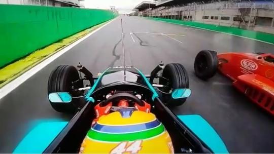 Lélio Assumpção vence prova por três milésimos e bate recorde na Fórmula 1600; veja o vídeo