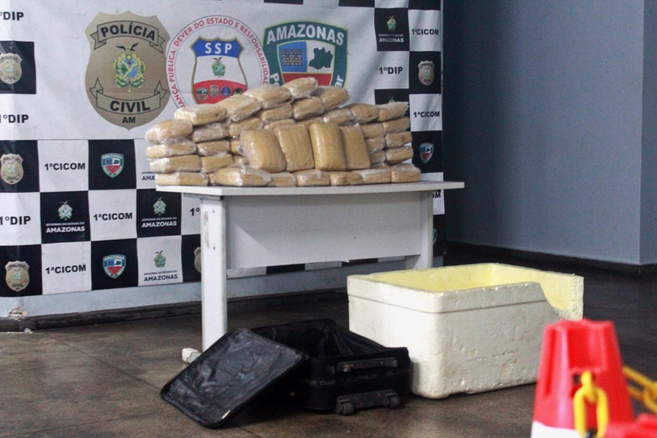 52 kg de maconha são apreendidos em casa na Zona Sul de Manaus - Notícias - Plantão Diário