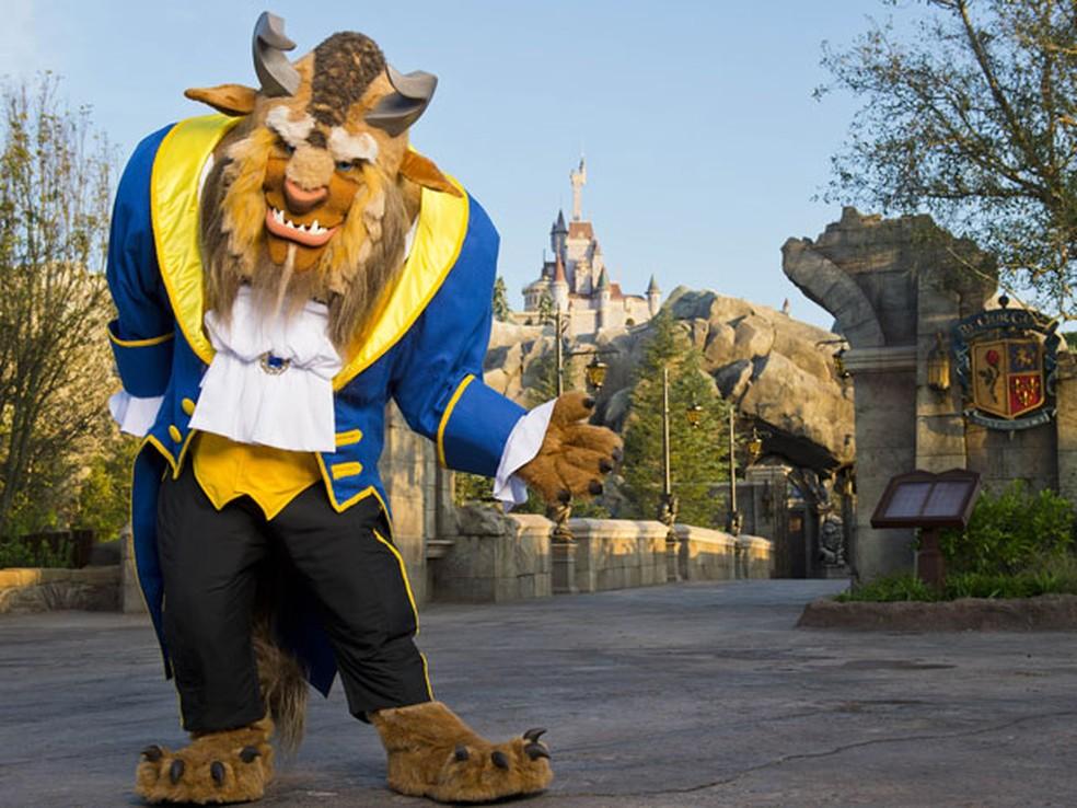 Castelo da Fera do Magic Kingdom — Foto: Divulgação/Disney