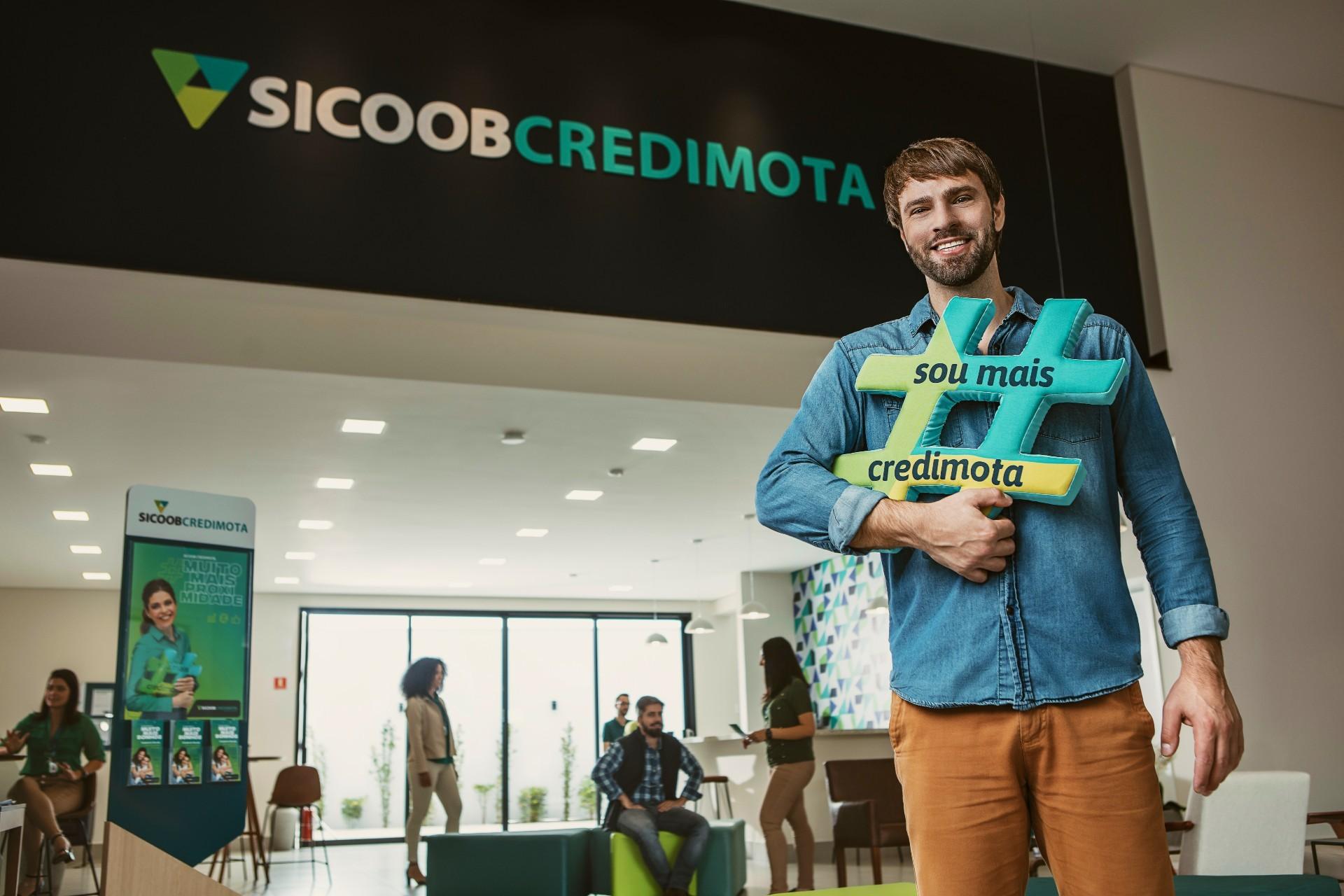 Sicoob Credimota lança a campanha #MuitoMaisSeu