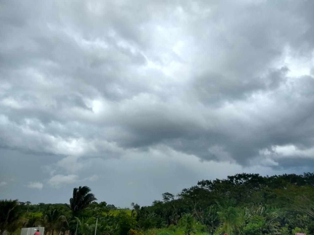 O tempo segue instável no Acre nesta quinta-feira (17), prevê Sipam - Notícias - Plantão Diário