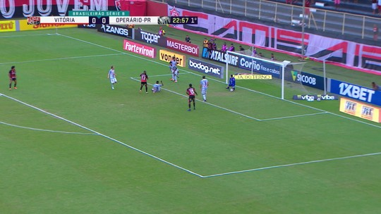 Atuações do Vitória: confira os destaques do time na partida contra o Operário-PR