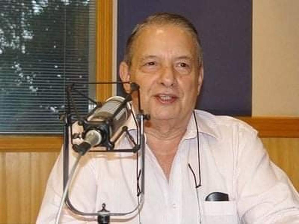 Jornalista José Paulo de Andrade, da Rádio Bandeirantes, morre aos 78 anos em SP — Foto: Reprodução Redes Sociais
