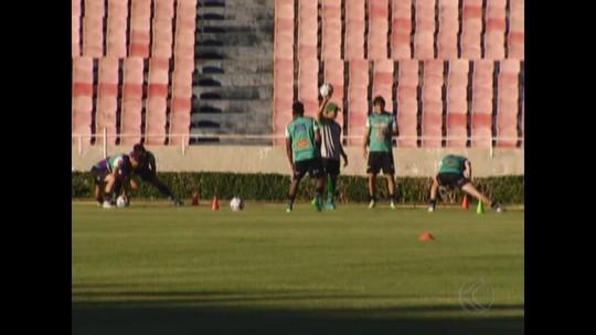 Uberlândia faz último treino antes da partida contra o Caxias pela Série D