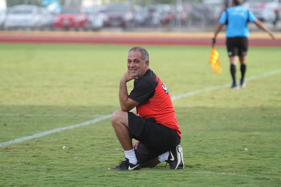 Celso Teixeira inicia seu trabalho à frente do Serrano-PB na próxima segunda-feira — Foto: Cisco Nobre/GloboEsporte.com