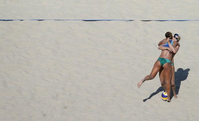 Bárbara e Ágatha Vôlei de Praia (Foto:  Saulo Cruz/Exemplus/COB)