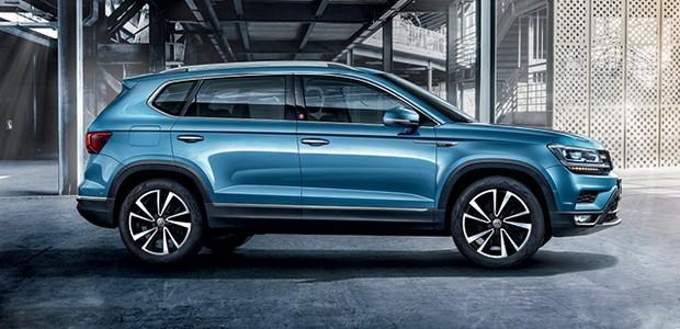 Volkswagen Tarek - Desenho parece pouco detalhado, mas o estilo tem minúcias que sobressaem a cada olhada, tais como os vincos e toques tridimensionais  (Foto: Divulgação)