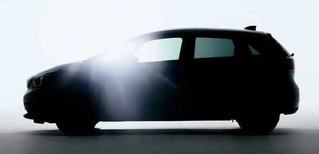 Teaser novo Honda Fit  (Foto: Divulgação )