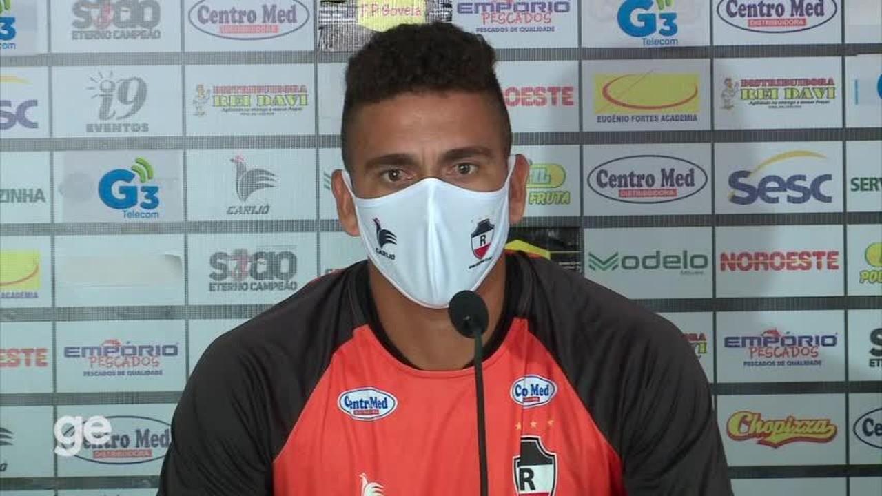 Zé Antônio diz qualidades: 'Cobro faltas, facilidade de sair jogando e bom na bola aérea'