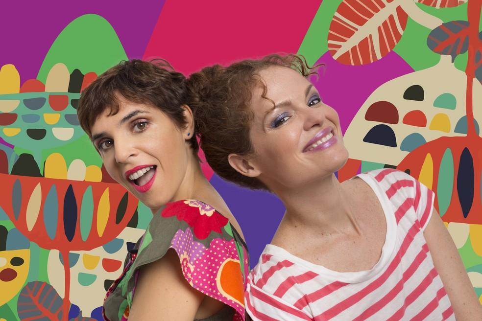"""Show """"Doidice que Dá"""" com Paula Tesser e Natasha Faria. (Foto: Nicolas Gondim/Divulgação)"""
