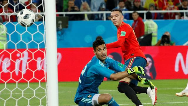 Aspas marca para a Espanha