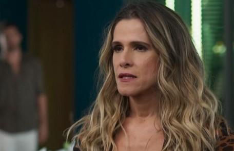 Na quarta-feira (9), Silvana (Ingrid Guimarães) ficará cega após uma acidente no set de gravação TV Globo