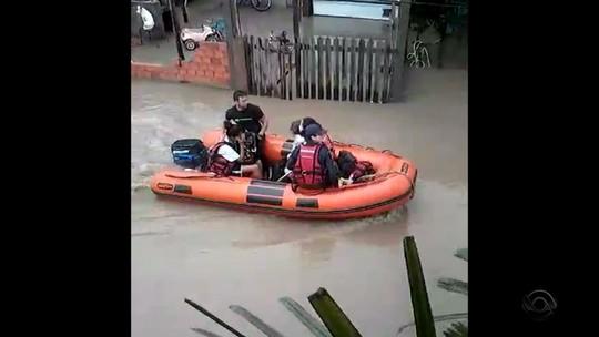 Chuva causa alagamentos em Porto Alegre e cidades da Região Metropolitana