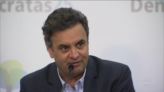 Delatores revelam pedidos de doações de Aécio Neves