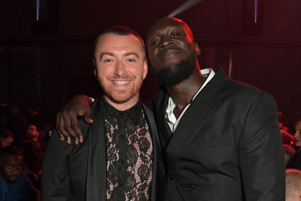 LONDON, ENGLAND - SEPTEMBER 03:   Sam Smith and Stormzy attend the the GQ Men Of The Year Awards 2019 in association with HUGO BOSS at the Tate Modern on September 3, 2019 in London, England.  (Photo by David M. Benett/Dave Benett/Getty Images for HUGO BO (Foto: Dave Benett/Getty Images for HUG)