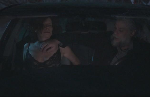 Após descobrir a traição de Pedro (Alexandre Nero), Rosinete (Deborah Bloch) teve momentos quentes com Ramiro (Fabio Assunção) em 'Onde nascem os fortes' (Foto: TV Globo)