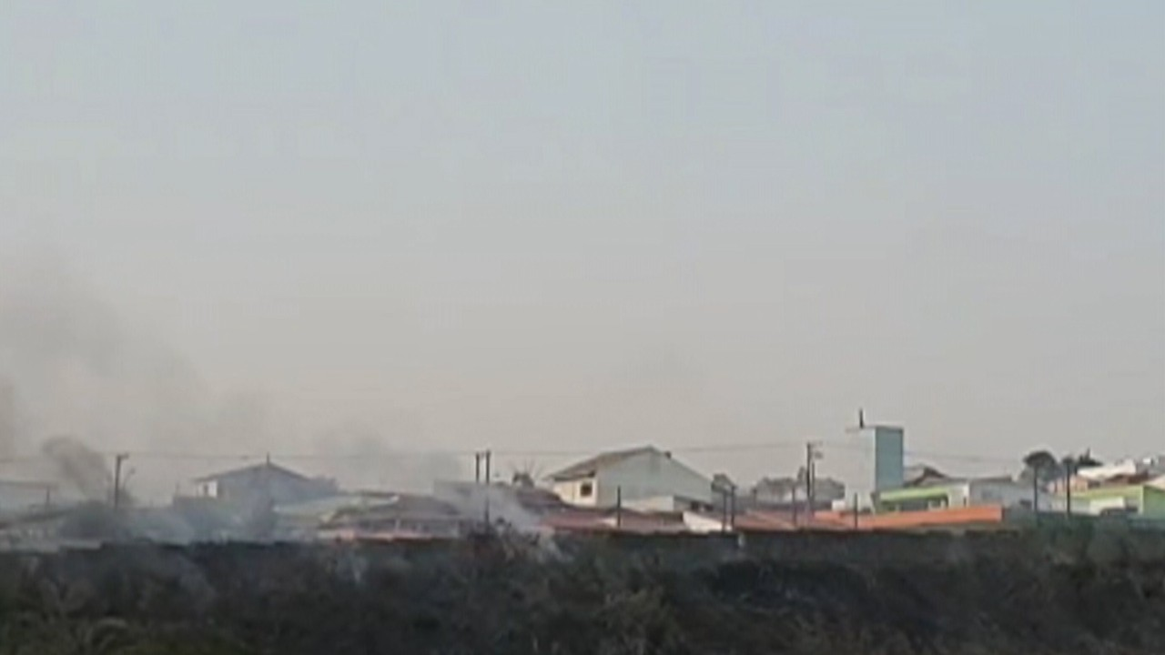 Tempo seco faz aumentar volume de queimadas em Mogi das Cruzes