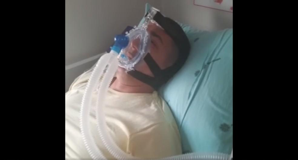 Deputado Eyder Brasil internado com coronavírus — Foto: Facebook/Reprodução