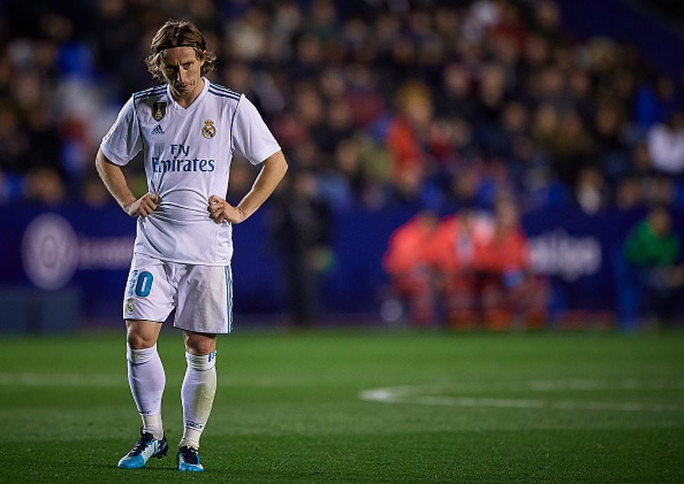 Modric é acusado de falso testemunho na Croácia (Foto: Quality Sport Images/Getty Images)
